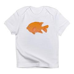 Garibaldi Damselfish fish Infant T-Shirt