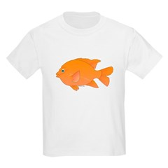 Garibaldi Damselfish fish T-Shirt