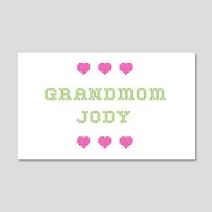 Grandmom Jody 20x12 Wall Peel