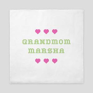 Grandmom Marsha Queen Duvet