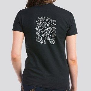 Bicycles Big and Small Women's Dark T-Shirt