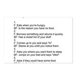 five ways to tell Postcards (Package of 8)