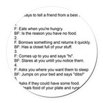 five ways to tell Round Car Magnet