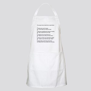 five ways to tell Apron