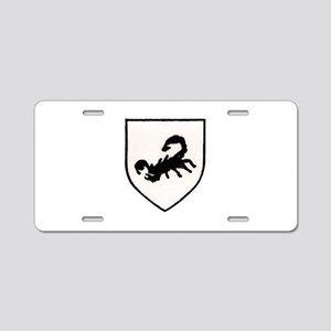 Rhodesian Special Forces Aluminum License Plate