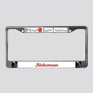Sideman License Plate Frame