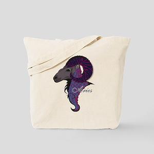Starlight Aries Tote Bag