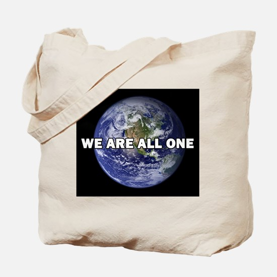We Are All One 002 Tote Bag
