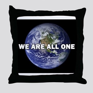 We Are All One 002 Throw Pillow
