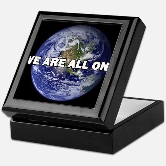 We Are All One 002 Keepsake Box