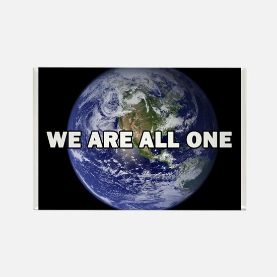 We Are All One 002 Rectangle Magnet