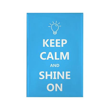 Keep Calm and Shine On Autism Awareness Magnet