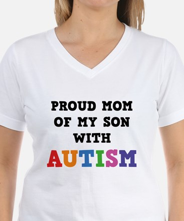 Proud Mom Of My Son With Autism Shirt