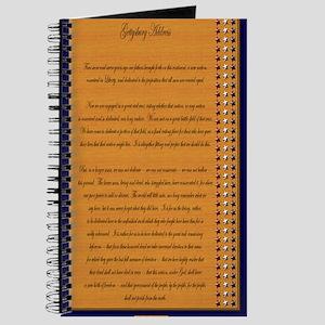 Gettysburg Address Journal