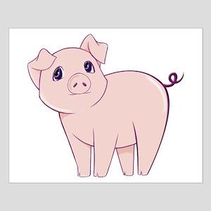 Cute little piggy Posters
