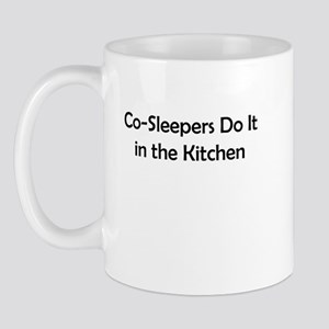 Co-Sleepers Do It in the Kitchen Mug