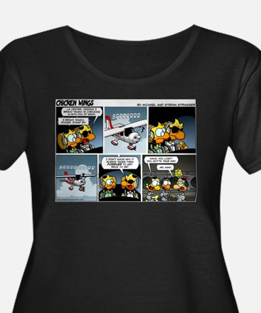 2L0027 - Cessna 3BT stand by! Plus Size T-Shirt