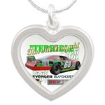 """""""Terrible"""" Tim Silver Heart Necklace Nec"""