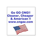 Go CNG Sticker