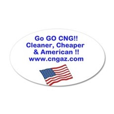 Go CNG Wall Decal