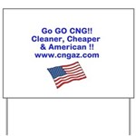 Go CNG Yard Sign