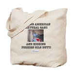 American natural gas Tote Bag