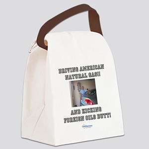 American natural gas Canvas Lunch Bag