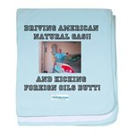 American natural gas baby blanket
