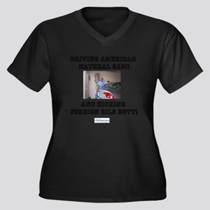 American natural gas Plus Size T-Shirt