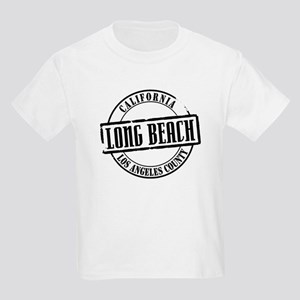 Long Beach Title Kids Light T-Shirt