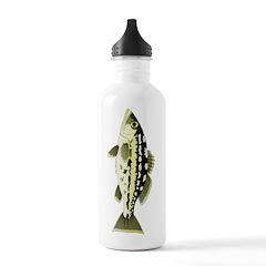 Calico Kelp Bass fish Water Bottle