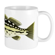 Calico Kelp Bass fish Mug