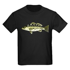 Calico Kelp Bass fish T-Shirt