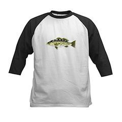 Calico Kelp Bass fish Baseball Jersey