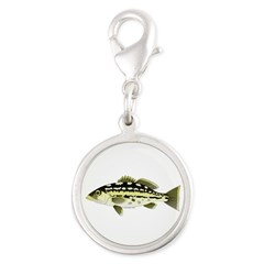 Calico Kelp Bass fish Charms