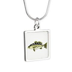 Calico Kelp Bass fish Necklaces