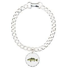 Calico Kelp Bass fish Bracelet