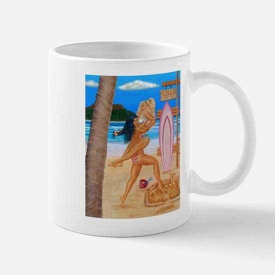 BEACH CATFIGHT Mug