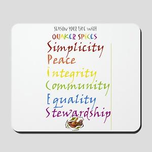 Quaker Spices Mousepad