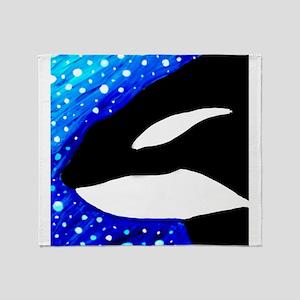 Orca Dream Throw Blanket