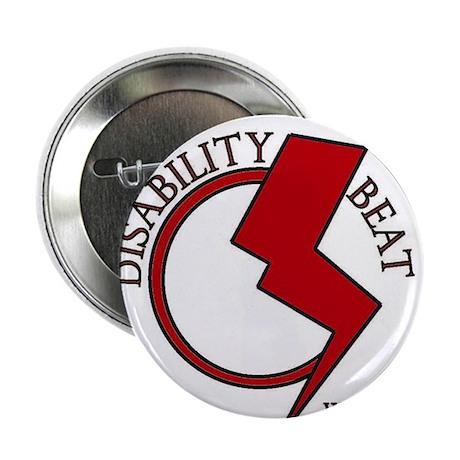 "Disability Beat Radio 2.25"" Button"
