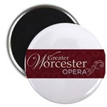 Greater Worcester Opera Logo Magnets