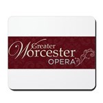 Greater Worcester Opera Logo Mousepad