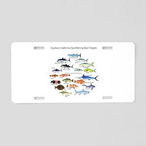 Southern California Sportfishing Targets Aluminum
