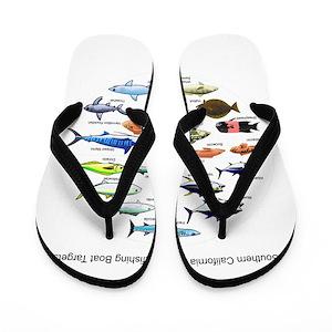 c8ab61214e57fd Sportfishing Flip Flops - CafePress