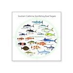 Southern California Sportfishing Targets Sticker