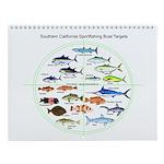 So. Ca. Sportfishing Targets Wall Calendar