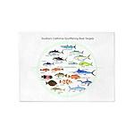 Southern California Sportfishing Targets 5'x7'Area