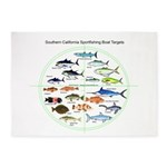 Southern California Sportfishing Targets 5'x7'Area