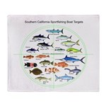Southern California Sportfishing Targets Throw Bla